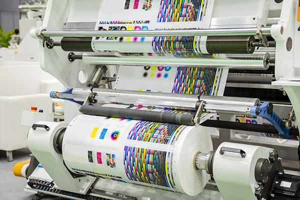 Imprenta digital de alto rendimiento, utilizada para tiradas de cortas cantidades